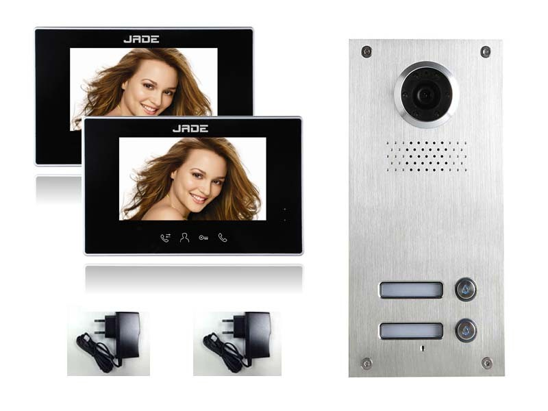 Multi Apartment Video Door Phone Intercom System Video Intercom ...