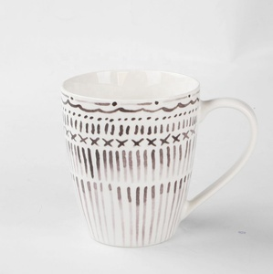 European Style Silver Color and Eco-Friendly Feature Ceramic Mug