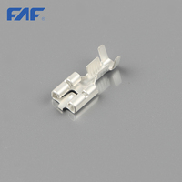 China golden supplier brass terminal tab connector faston terminal male