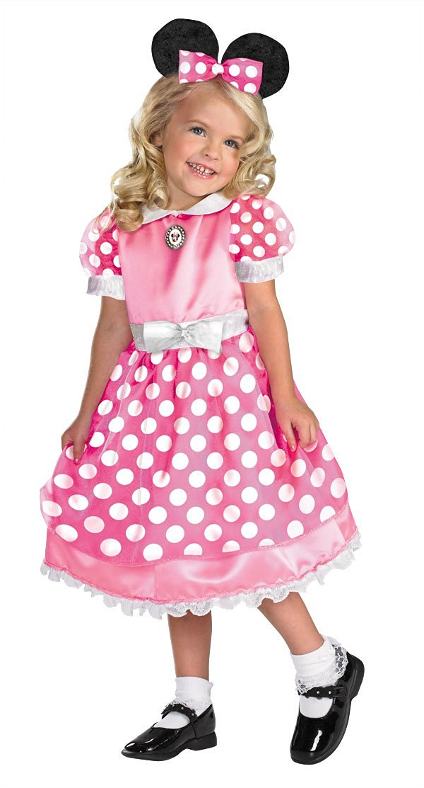 Disguise Inc - Disney Clubhouse Minnie Mouse Toddler(3T-4T)