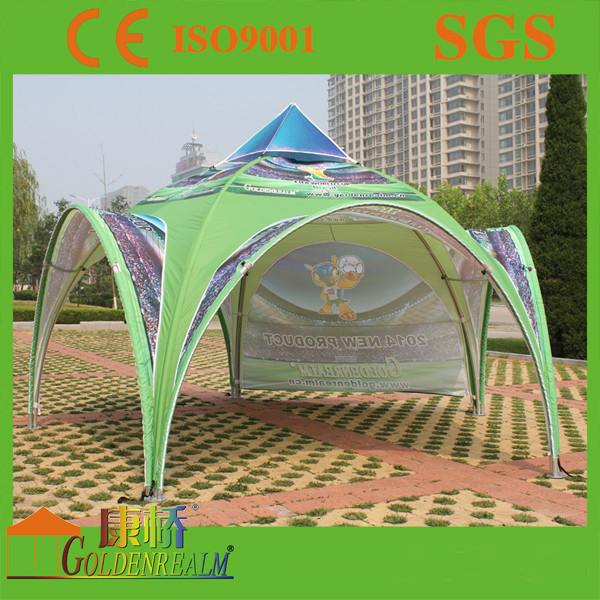 Commercial use 5m dome tents/custom made large event tents for sale with carry bag