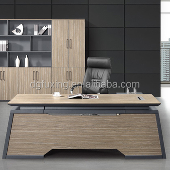 Modern Mfc Modular Office Furniture Wooden Executive Table