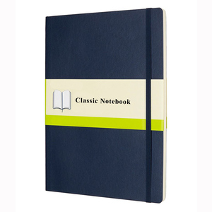 pu leather notebook with blank inner page