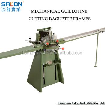 Mechanical Guillotine Cutting Baguette Frames - Buy Mechanical ...