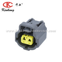 Kinkong 2 Pin Female Plug Electrical Waterproof Wire Housing Auto Connector Tyco/Amp 178390-2