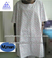 hospital patient gown /hospital colthing for patient /patient uniform