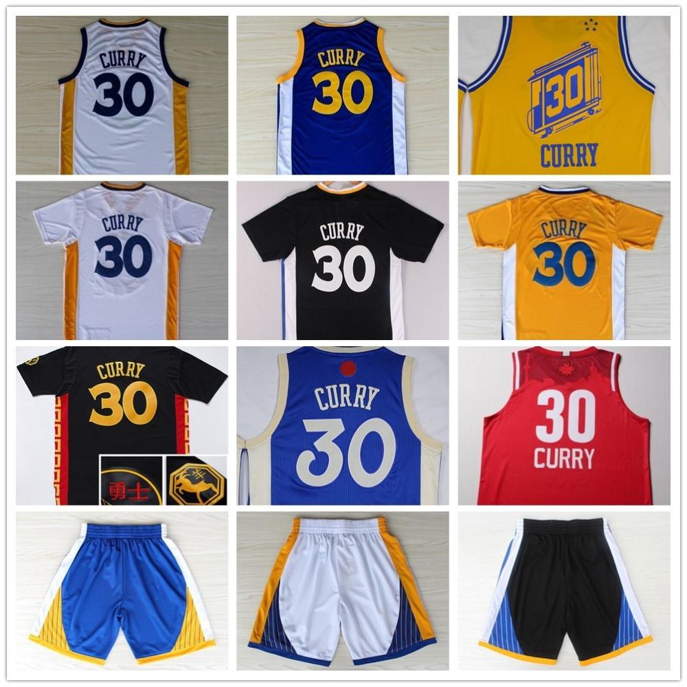 5ed6568fb ... spain 2016 30 stephen curry basketball jerseys mens christmas jersey  all star jersey white black short