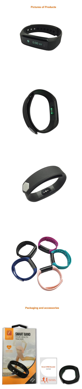 Id115hr Pedometer Smart Band Fitness Activity Tracker Bracelet Sport