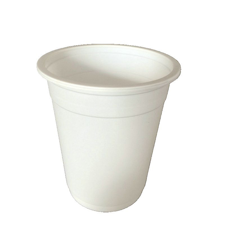 Custom Eco Friendly Products Biodegradable Tea Cups Disposable Cup White