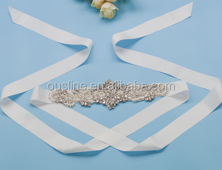 bulk rhinestone wedding belt, bridal waist belt