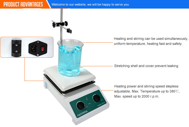 Chemistry lab heating equipment