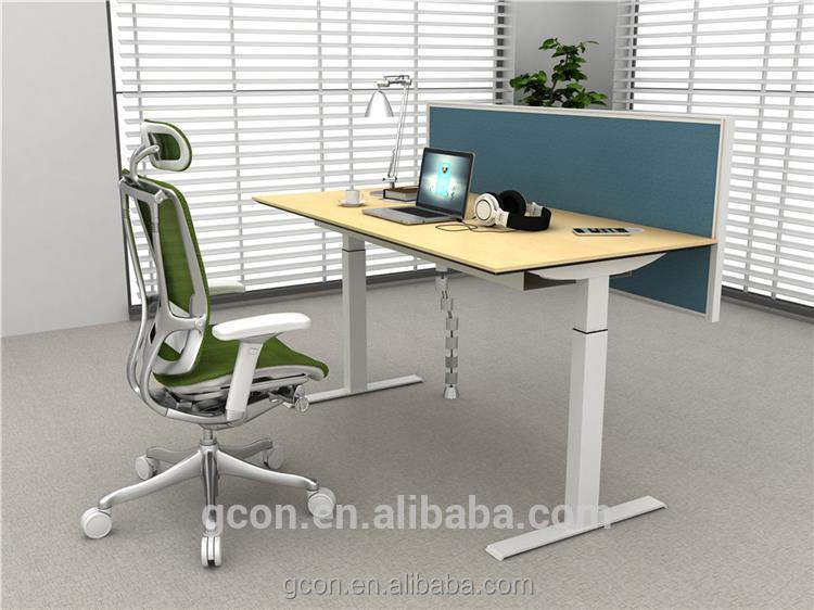 Modern style table height adjustable/home office desk