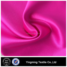 High quality smooth soft shiny polyester satin