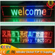 direct manufacturer high quality wholesale price colorful led moving running message sign text used led signs sale