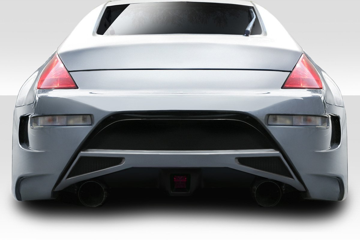 Couture Urethane AMS GT Rear Bumper -1 Piece Body Kit - Fits Nissan 350Z - 2003 2004 2005 2006 2007 2008 | 03 04 05 06 07 08 (ED-MXC-041)