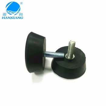 Chinese factory wholesale M8 screw fix rubber feet for chairs protection