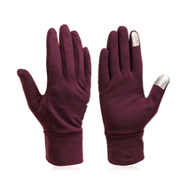Fashion women outdoor warm touch screen gloves