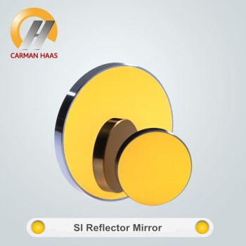 20mm Diameter Gold-plasted Si Mirror for CO2 Cutting machine