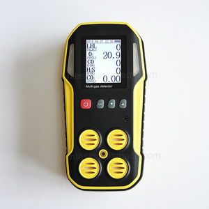 2~5 gas analyzer, CE portable multi gas detector CH4, CO, CO2, O2, H2S, SO2, NH3