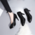 2019 Spring new professional Korean version of versatile black work shoes with a light upper dress shoe women LYF