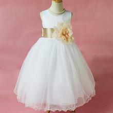Flower Girl Petals font b Dress b font Children Bridesmaid Toddler font b Elegant b font