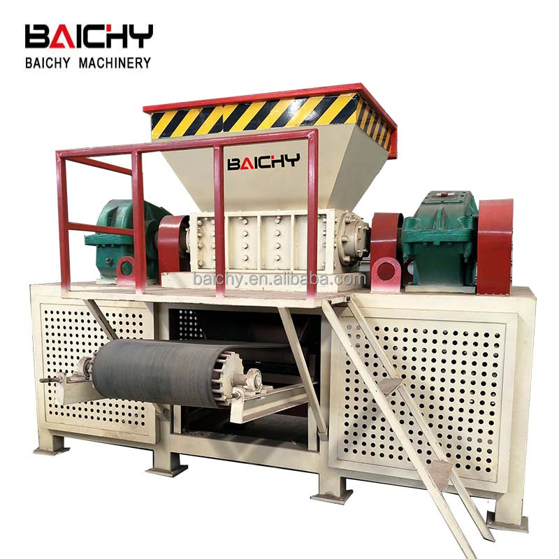 Henan Baichy supply Afval plastic shredder/versnipperen machine