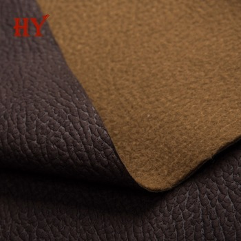 Faux Cowhide Leather Fabric For Sofa