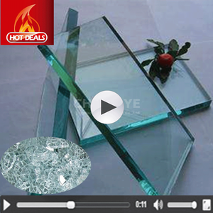Pretty Service Flat 3mm 4mm 5mm 6mm 12mm Cheap Thick Clear Float Glass