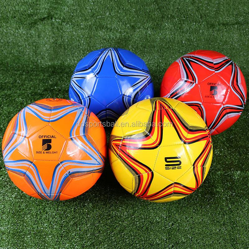 Handel assurance Professionele PU hoge kwaliteit Voetbal/top match kwaliteit/Pu lederen voetbal voetbal bal