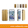 new custom design cell phone case for iphone 7 pro wooden case