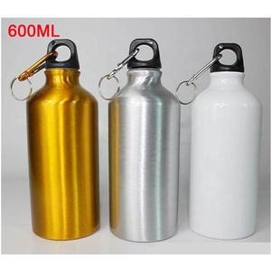 Rubysub Hot Selling D03 Sublimation Blank Aluminum Travelling Water Bottles 600ml Sport Water Bottle