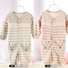 new born soft eco organic material anime baby clothes
