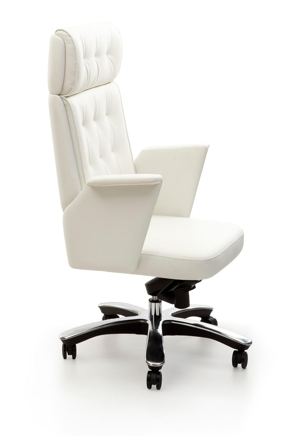 Design De Luxe A Dossier Haut Chaise Bureau Housse Siege En Cuir Antique