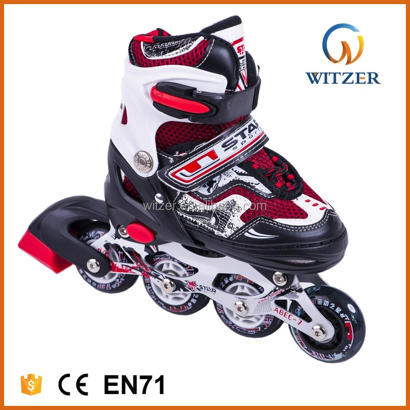 2017 students size 14 inline speed skates