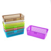 /product-detail/portable-multifunction-storage-rectangular-plastic-basket-with-handle-60645481721.html