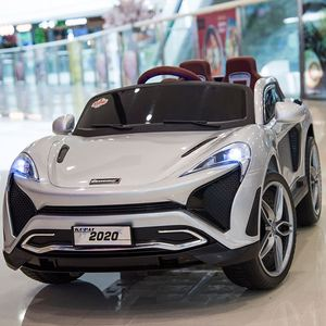 2018 double open doors children electric car/ licensed 12V battery two seater ride on car kids electric in America