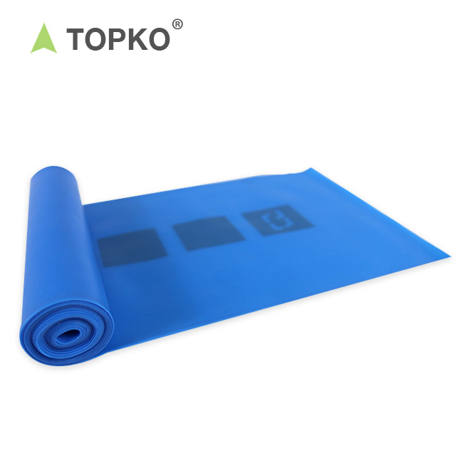 TOPKO Pilates, Stretch, Yoga, Strength Training Workout Physical Therapy Band