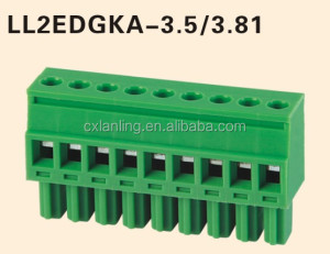 Pluggable Terminal Block female LL2EDGKA-3.5/3.81