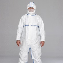 TYPE 5 6 standard Industrial Workplace and Asbestos Removal disposable dust suits/Protective Clothing/Microporous Coverall