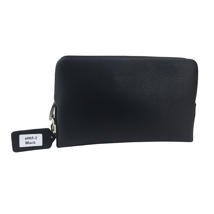Genuine leather clutch bag for men