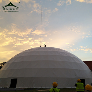 Factory sales Customized Uniqie dome tent for Events with Furniture/Floor/Cooling/Lighting inside