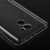 DFIFAN Clear Soft TPU Mobile Phone Case for Xiaomi redmi 5 plus 4 Pro 4A , Glossy transparent cover for Redmi 5 Plus