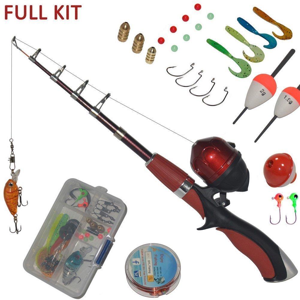 Kids Starter Fishing Kit Junior Fishing Set