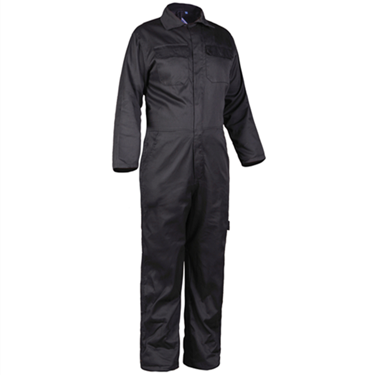 Cotton working Black And Navy Blue Coverall / Workwear ( Ready In - stock )