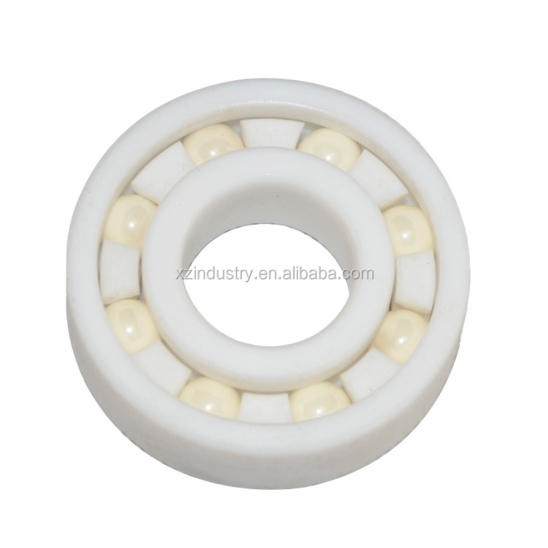 Full Ceramic ball bearing of Zirconia deep groove ball 6204 with high quality