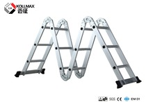6 meters movable folding van step 4 in 1 ladder