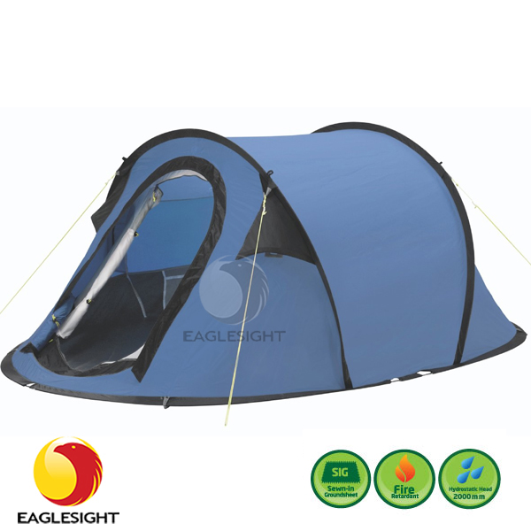 Camping Spring Steel Wire Pop Up Tent - Buy Pop Up Tent,Spring Steel ...