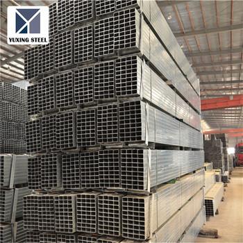 Galvanized Square Tubing 4x4 Galvanized Square Metal Fence