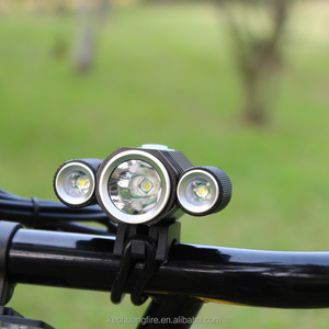 Cheap 3 Cree XML-T6 Led Ride Light Bicycle Bike Highlight Lamp Rechargeable