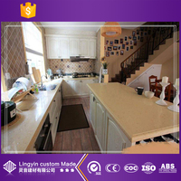 modern corner kitchen cabinet under the stairs with modular designs ideas with price manufacture in guangzhou chinese